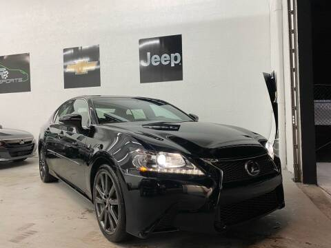 2015 Lexus GS 350 for sale at GCR MOTORSPORTS in Hollywood FL