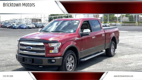 2015 Ford F-150 for sale at Bricktown Motors in Brick NJ