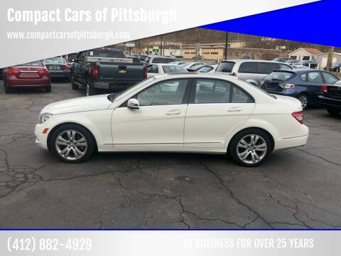 2011 Mercedes-Benz C-Class for sale at Compact Cars of Pittsburgh in Pittsburgh PA