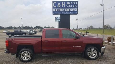 2016 Chevrolet Silverado 1500 for sale at C & H AUTO SALES WITH RICARDO ZAMORA in Daleville AL