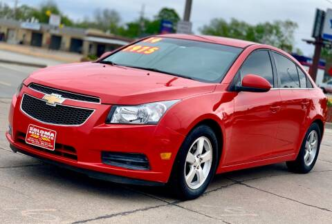 2014 Chevrolet Cruze for sale at SOLOMA AUTO SALES in Grand Island NE