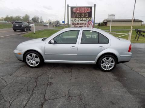 2004 Volkswagen Jetta for sale at MYLENBUSCH AUTO SOURCE in O` Fallon MO
