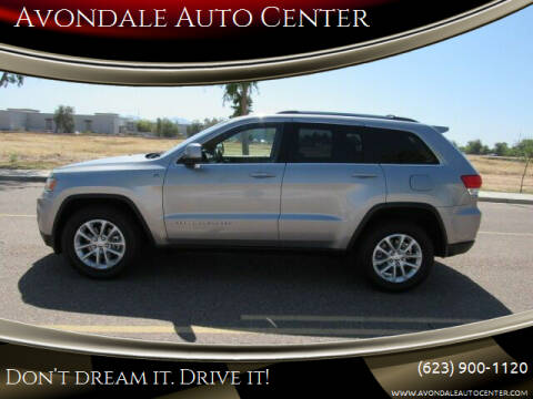2014 Jeep Grand Cherokee for sale at Avondale Auto Center in Avondale AZ