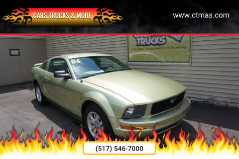 2006 Ford Mustang for sale at Cars Trucks & More in Howell MI