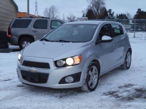 2013 Chevrolet Sonic for sale at MT MORRIS AUTO SALES INC in Mount Morris MI