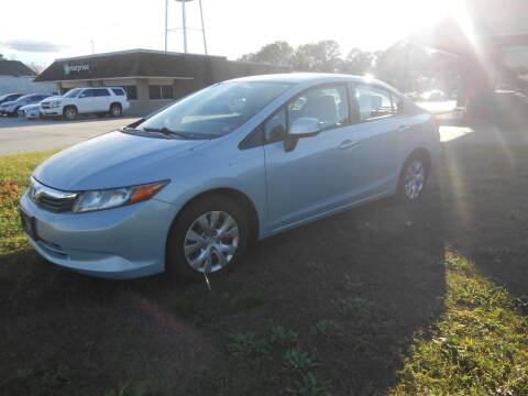 2012 Honda Civic for sale at Smithfield Auto & Truck Center in Smithfield VA