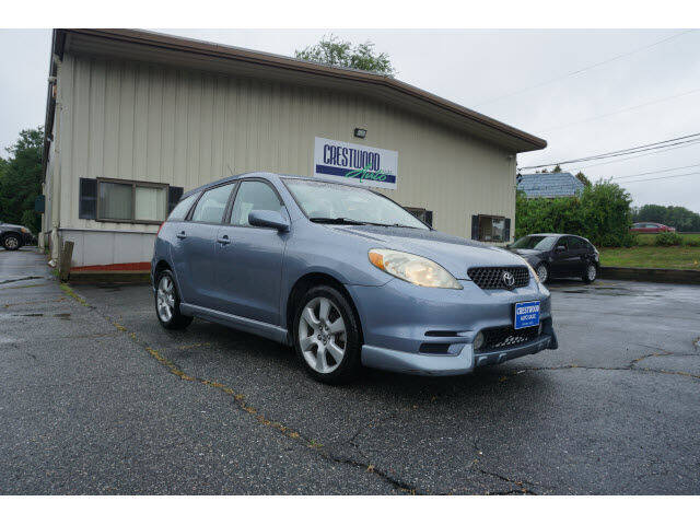 2004 Toyota Matrix for sale at Crestwood Auto Sales in Swansea MA