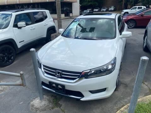 2014 Honda Accord for sale at J Franklin Auto Sales in Macon GA