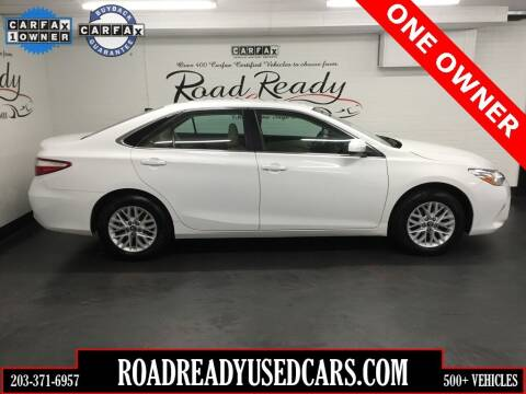 2017 Toyota Camry for sale at Road Ready Used Cars in Ansonia CT