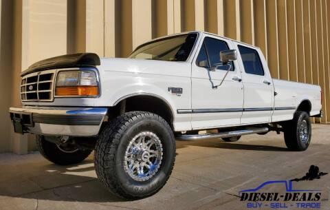 1997 Ford F-350 for sale at DIESEL DEALS in Salt Lake City UT