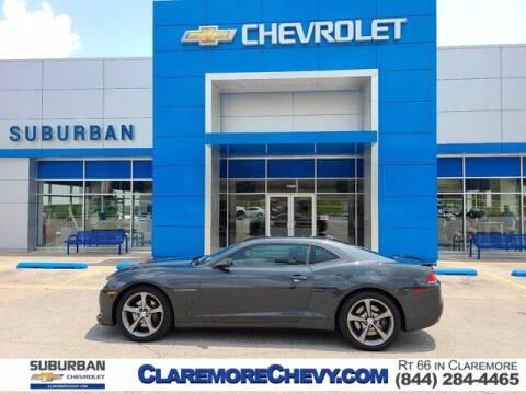 2014 Chevrolet Camaro for sale at Suburban Chevrolet in Claremore OK