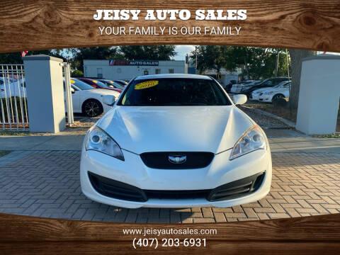 2011 Hyundai Genesis Coupe for sale at JEISY AUTO SALES in Orlando FL