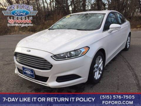 2013 Ford Fusion for sale at Fort Dodge Ford Lincoln Toyota in Fort Dodge IA