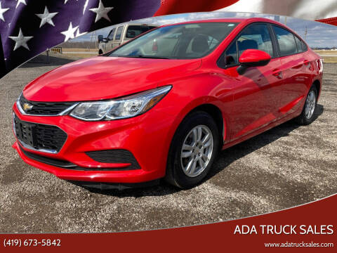 2017 Chevrolet Cruze for sale at Ada Truck Sales in Ada OH