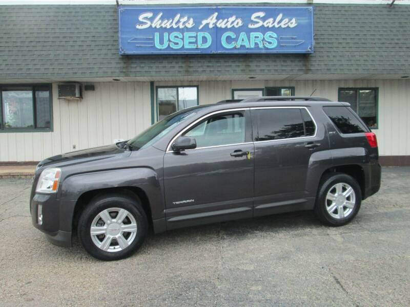 2015 GMC Terrain for sale at SHULTS AUTO SALES INC. in Crystal Lake IL
