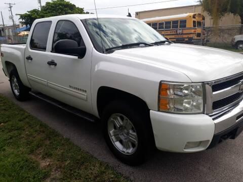 2010 Chevrolet Silverado 1500 for sale at LAND & SEA BROKERS INC in Deerfield FL