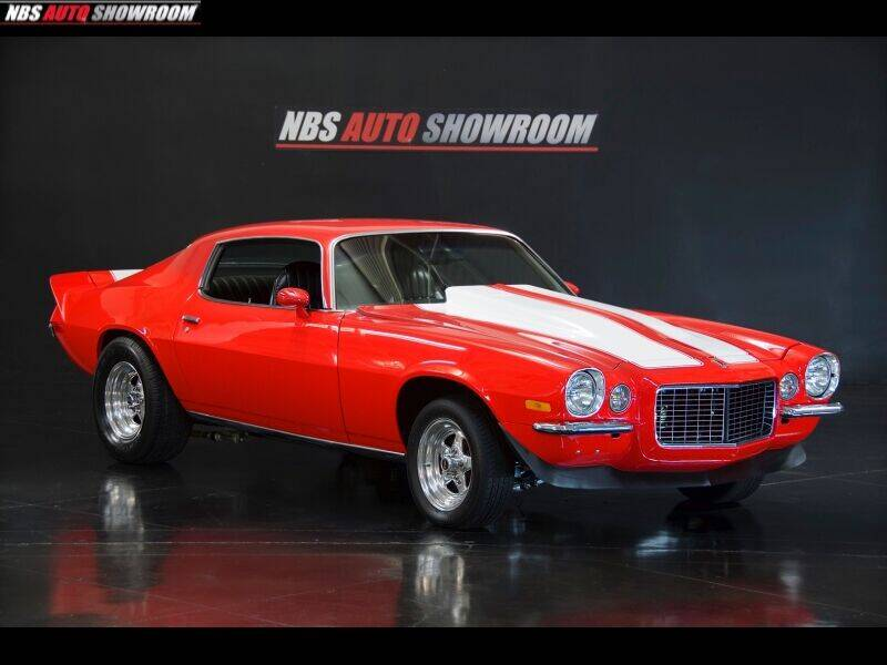 1972 Chevrolet Camaro for sale at NBS Auto Showroom in Milpitas CA