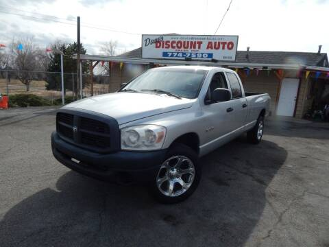 2008 Dodge Ram Pickup 1500 for sale at Dave's discount auto sales Inc in Clearfield UT