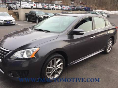 2015 Nissan Sentra for sale at J & M Automotive in Naugatuck CT
