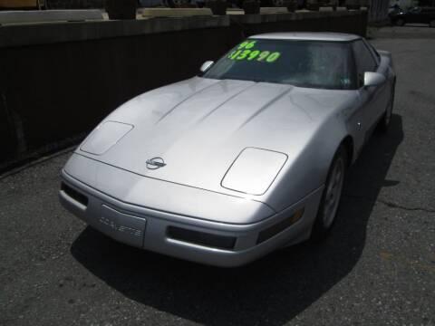 1996 Chevrolet Corvette for sale at WORKMAN AUTO INC in Pleasant Gap PA