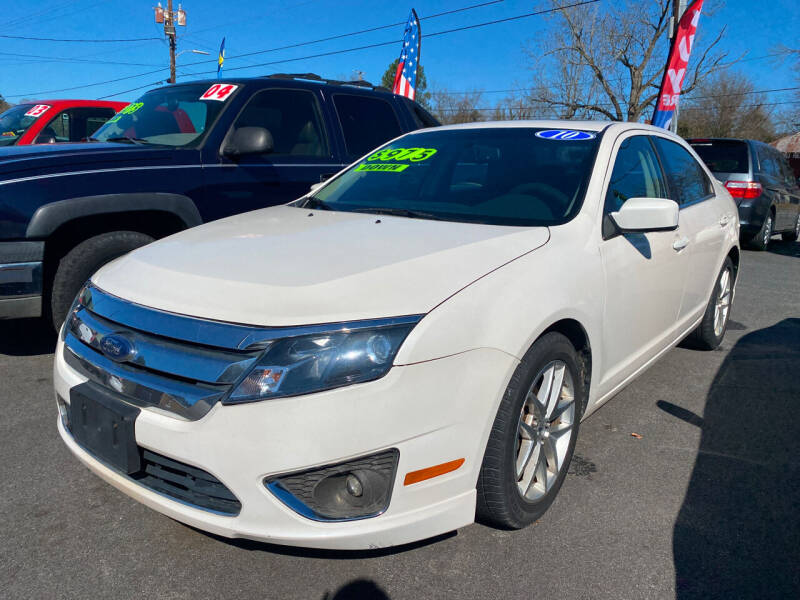 2010 Ford Fusion for sale at Cars for Less in Phenix City AL