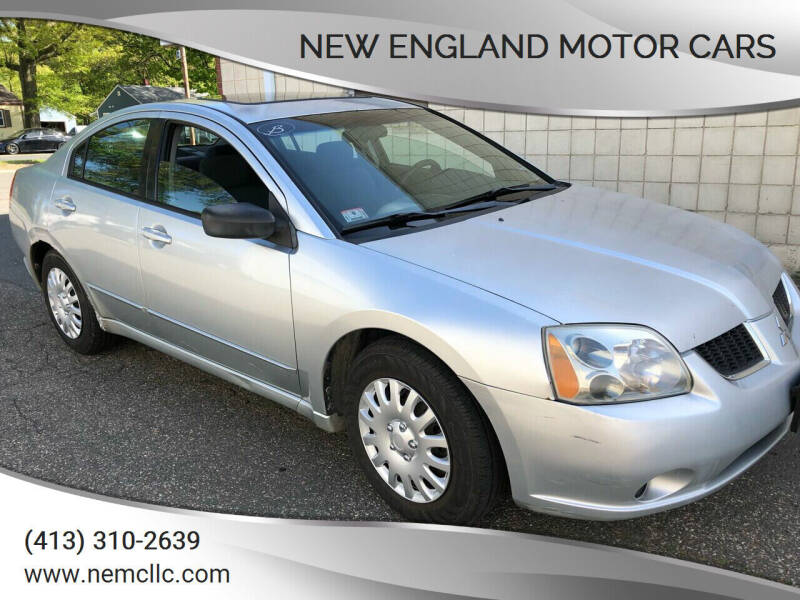 2004 Mitsubishi Galant for sale at New England Motor Cars in Springfield MA