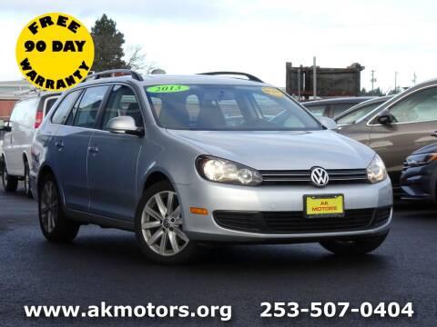 2013 Volkswagen Jetta for sale at AK Motors in Tacoma WA