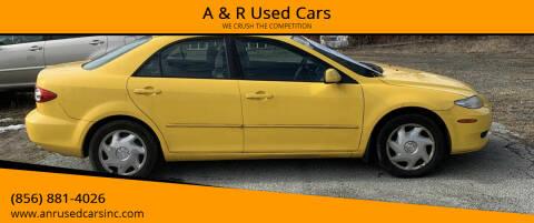 2003 Mazda MAZDA6 for sale at A & R Used Cars in Clayton NJ