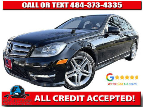 2013 Mercedes-Benz C-Class for sale at World Class Auto Exchange in Lansdowne PA