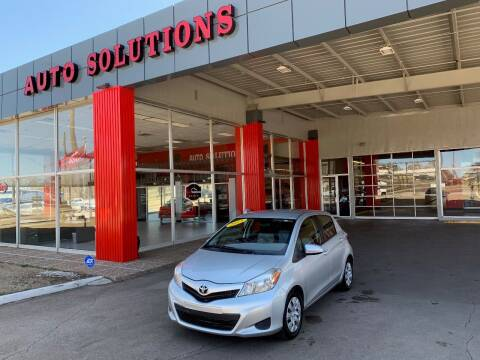 2013 Toyota Yaris for sale at Auto Solutions in Warr Acres OK