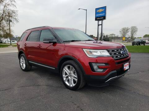 2017 Ford Explorer for sale at Krajnik Chevrolet inc in Two Rivers WI