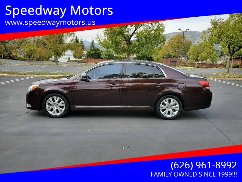 2011 Toyota Avalon for sale at Speedway Motors in Glendora CA