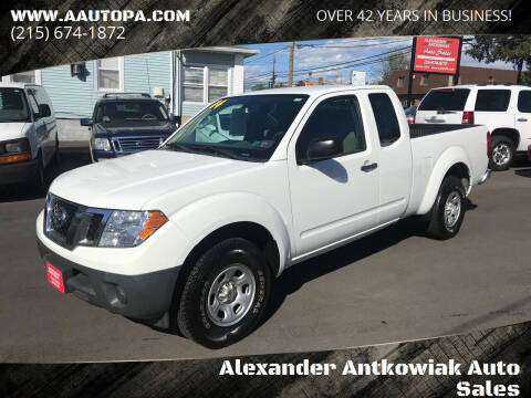 2014 Nissan Frontier for sale at Alexander Antkowiak Auto Sales in Hatboro PA