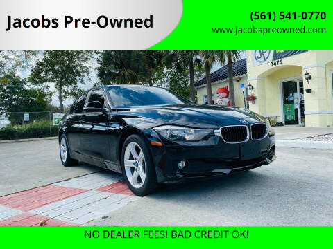 2014 BMW 3 Series for sale at Jacobs Pre-Owned in Lake Worth FL