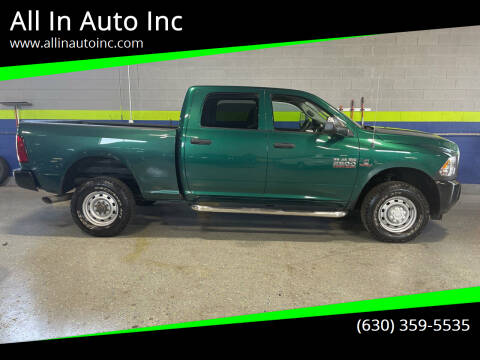 2013 RAM Ram Pickup 2500 for sale at All In Auto Inc in Addison IL