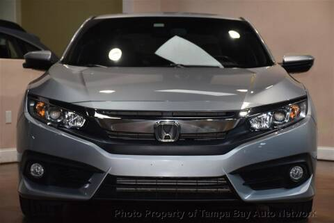 2018 Honda Civic for sale at Tampa Bay AutoNetwork in Tampa FL