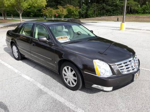 2008 Cadillac DTS for sale at JCW AUTO BROKERS in Douglasville GA