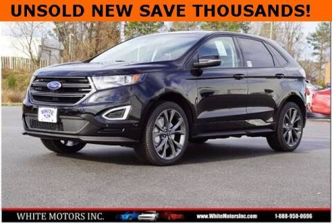 2017 Ford Edge for sale at WHITE MOTORS INC in Roanoke Rapids NC