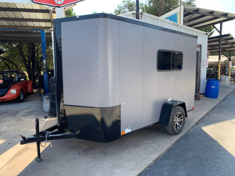 2021 CARGO CRAFT 6X12 RAMP for sale at Trophy Trailers in New Braunfels TX