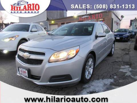 2013 Chevrolet Malibu for sale at Hilario's Auto Sales in Worcester MA