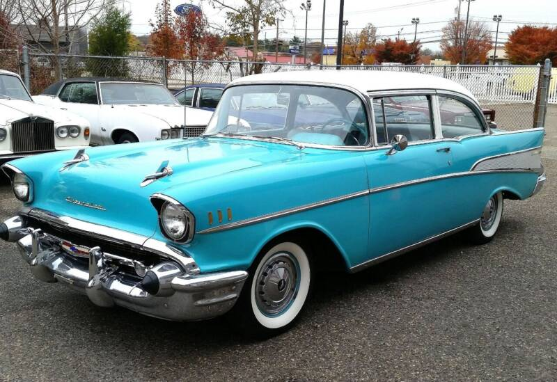 1957 Chevrolet Bel Air for sale at Black Tie Classics in Stratford NJ