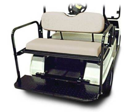 -1 Madjax Rear Seat, Flip - DS