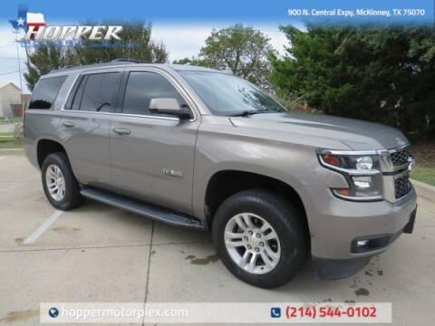 2018 Chevrolet Tahoe for sale at HOPPER MOTORPLEX in Mckinney TX