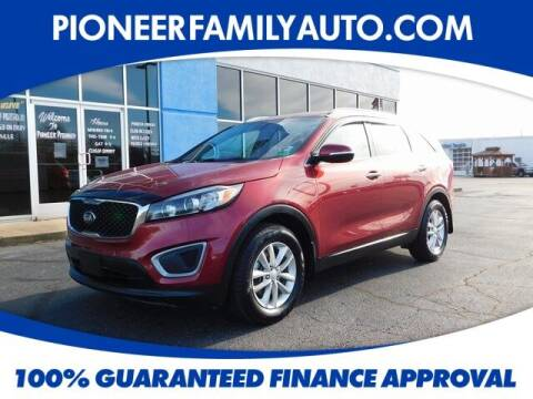 2016 Kia Sorento for sale at Pioneer Family auto in Marietta OH