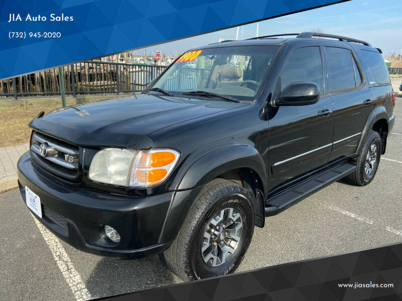 2001 Toyota Sequoia for sale at JIA Auto Sales in Port Monmouth NJ
