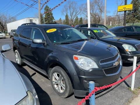 2013 Chevrolet Equinox for sale at Car Credit Stop 12 in Calumet City IL