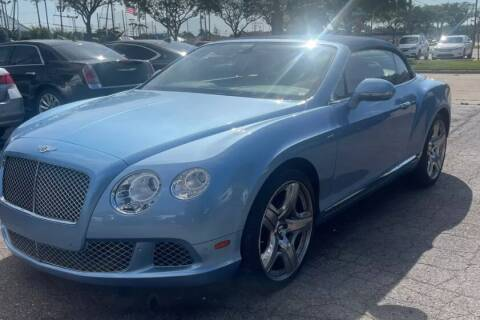 2015 Bentley Continental for sale at MFT Auction in Lodi NJ