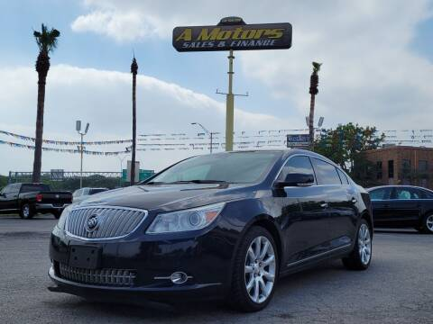 2012 Buick LaCrosse for sale at A MOTORS SALES AND FINANCE in San Antonio TX