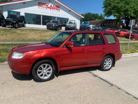 2006 Subaru Forester for sale at Efkamp Auto Sales LLC in Des Moines IA