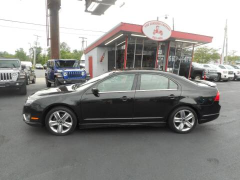 2011 Ford Fusion for sale at The Carriage Company in Lancaster OH
